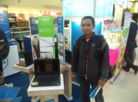 Pameran Laptop Dell